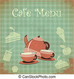 Vintage Cover Cafe Menu