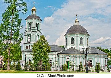 Church in Tsaritsino Park, Moscow