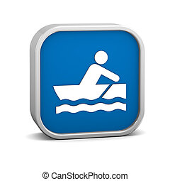 Rowboat sign