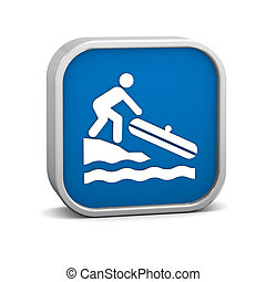 Small Boat Launch sign