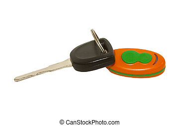 Stock Images of Keyless car intro - Close up of remote key less ...
