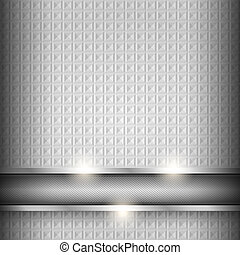 Metal surface, iron texture background, vector design...