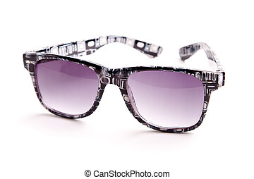 sunglasses 2 - fasion plastic sunglasses closeup isolated