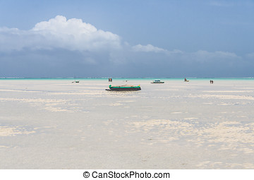 Sandbank in the deep south Malagasy