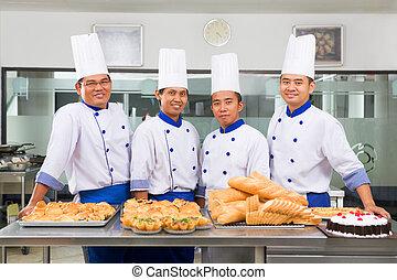 Chef, panaderos, o