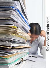 Paperwork and worker - Lots of workload with stress people...