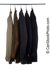Mens Suit Coats - Blazers and Jackets on hangers