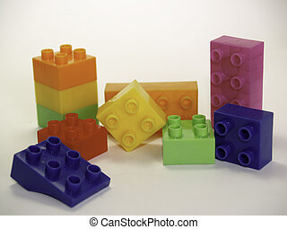 Colorful lego blocks toy