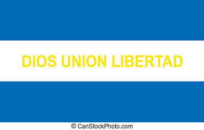 Elsalvador civil ensign - Various vector flags, state...