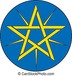 Ethiopia emb - Various vector flags, state symbols, emblems...