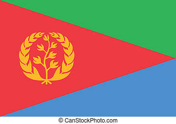 Eritrea n - Various vector flags, state symbols, emblems of...