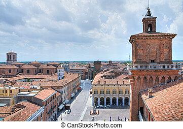 Estense Castle Ferrara Emilia-Romagna Italy