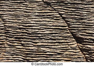 Background of Pancake Rocks of Punakaiki, NZ - Background...