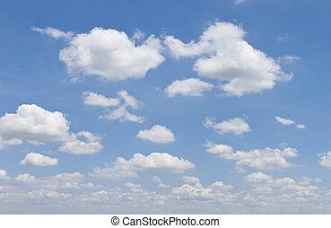 cloudscape - cloud overcast on sky
