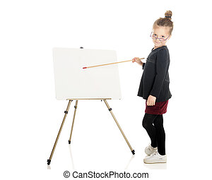 Teacher at the Easel