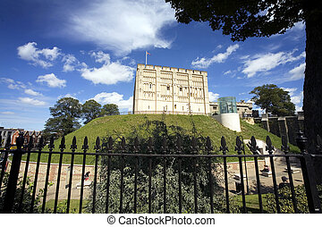 Norwich Castle in the historic city of Norwich