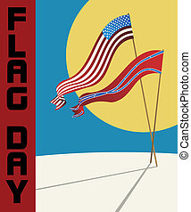 Flag Day card