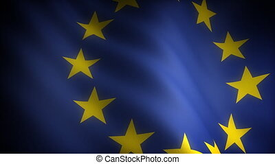 Flag of European Community seamless