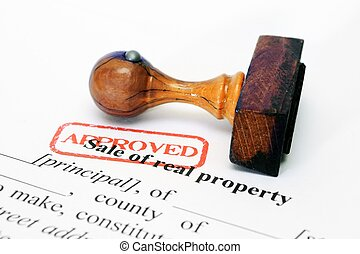 Sale of property form