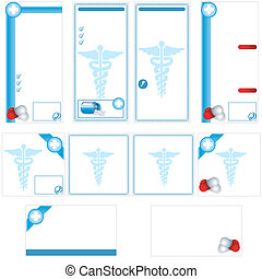 Medical stationary template