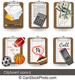 Clipboard icons 2