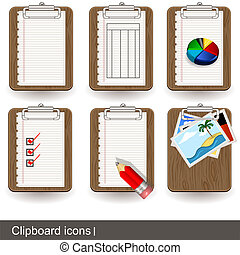 Clipboard icons 1