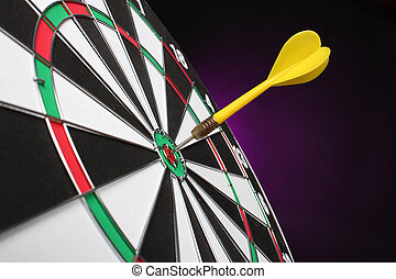 Dartboard bulls eye