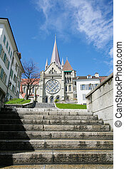 Cathedral of Lausanne Switzerland
