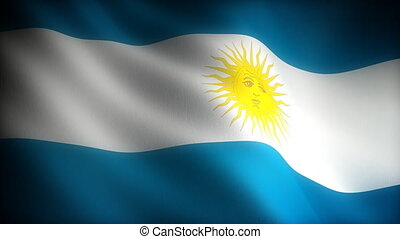 Flag of Argentina seamless