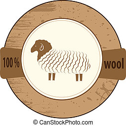 Stamp lists for products from wool.