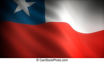 Flag of Chile seamless