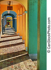 The Colors of St Croix, USVI - The Danish architecture is...