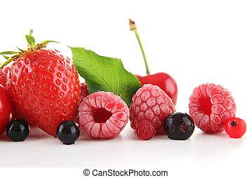 heap of berry fruit