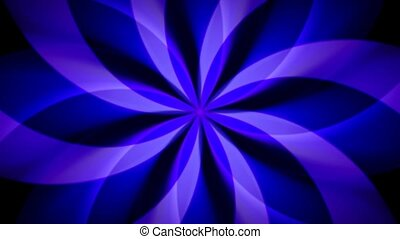 Spirographic Purple-Blue Loop