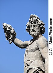 Statue of Bacchus in Florence, Italy