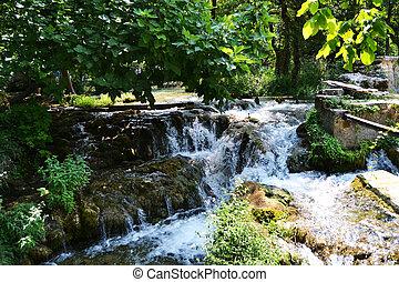 Waterfalls of Krka - Wonderful Waterfalls of Krka Sibenik,...