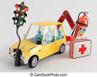 Car and Emergency Kit - Car emergency kit that can be very...