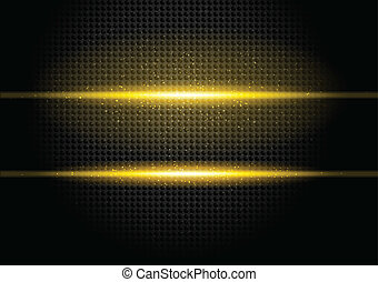 Bckground with orange rays - Dark background with orange...