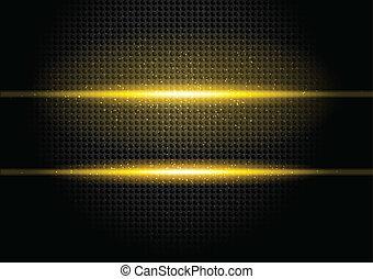 Bckground with orange rays - Dark background with orange...
