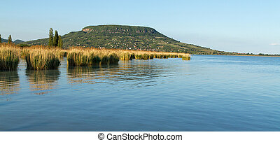 Landscape - Beautiful landscape of the Lake Balaton