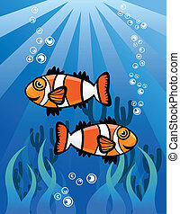 Couple ClowFish