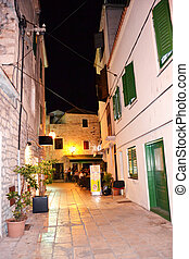 Roads of Vodice, Croatia - Roads of Vodice, a small town on...