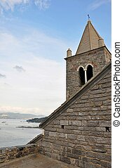 Church of Portovenere, Liguria, Italy