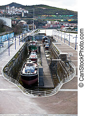 dry dock for ship repair