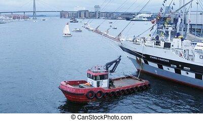 STAVROS S NIARCHOS dock in port - STAVANGER, NORWAY - JUL...