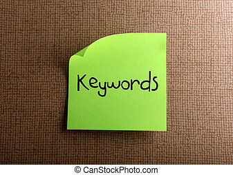 Keywords