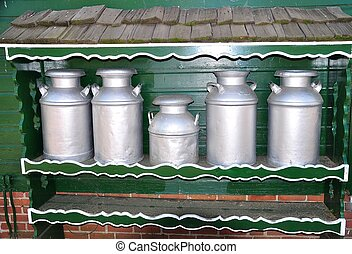 Milk cans - Holland MI