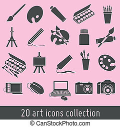 art icons collection