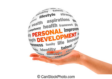 Personal Development - Hand holding a 3d Personal...