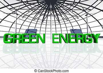 Green Energy Concept 01
